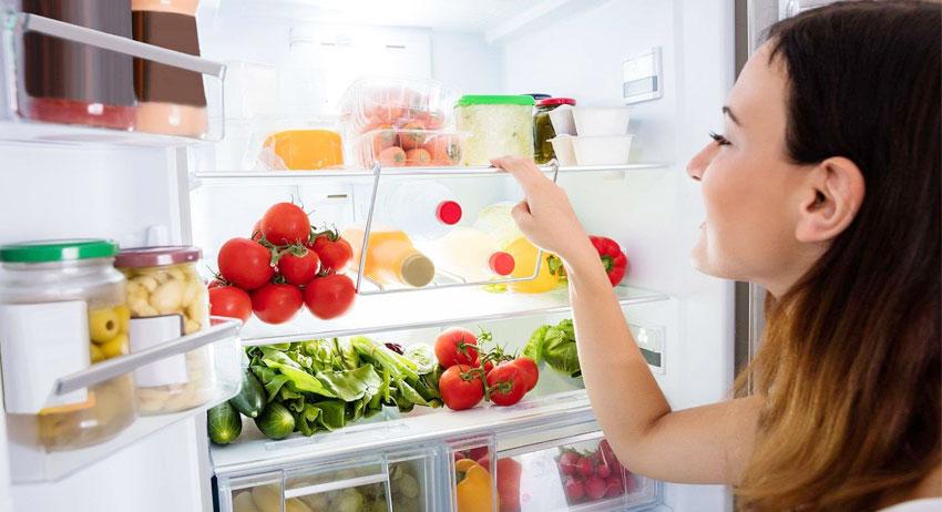 tárolás a hűtőben